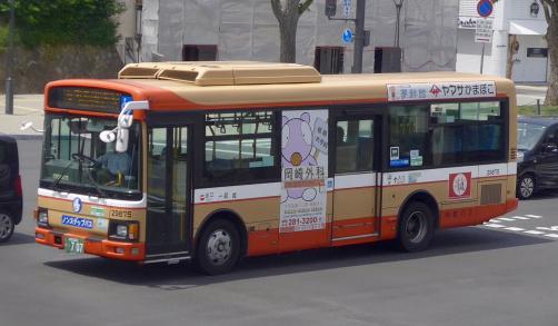 JR山電神姫ぽのバス